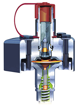 Powerful diaphragm pump: