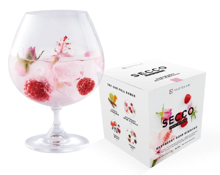 Secco Raspberry Rose Hibiscus Box