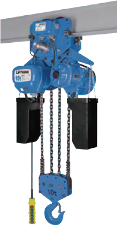 10Ton Electric Chain Hoist with trolley