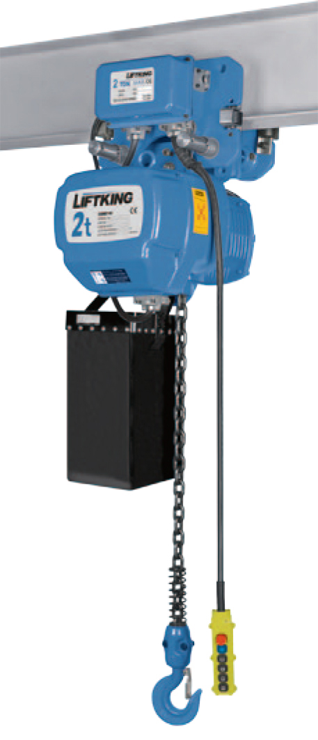 2T Electric Chain Hoist with trolley