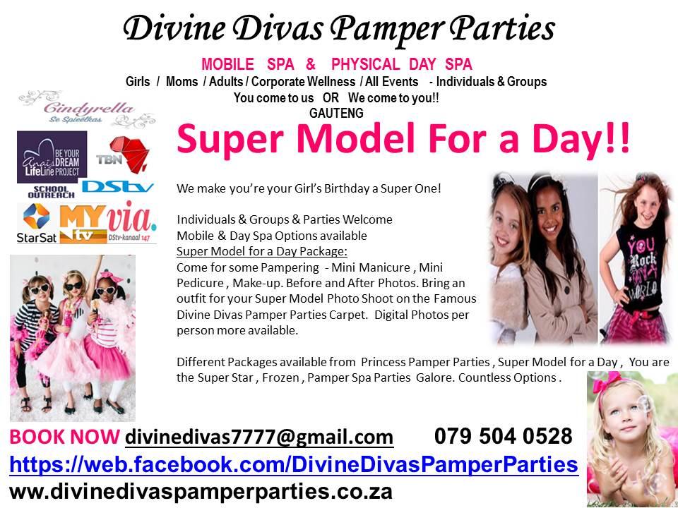 Best Pamper Parties Spa Birthday Party Pretoria Centurion