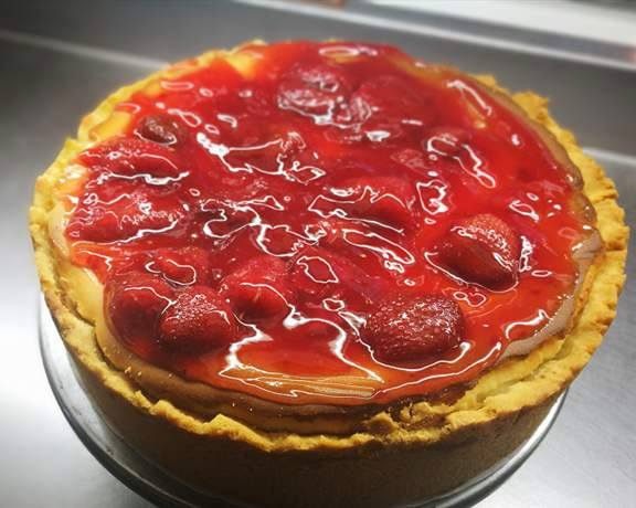 Strawberry Cheese Cake R150