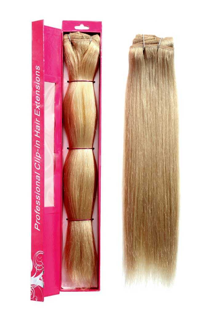 nicciG platinum clip-in hair extensions