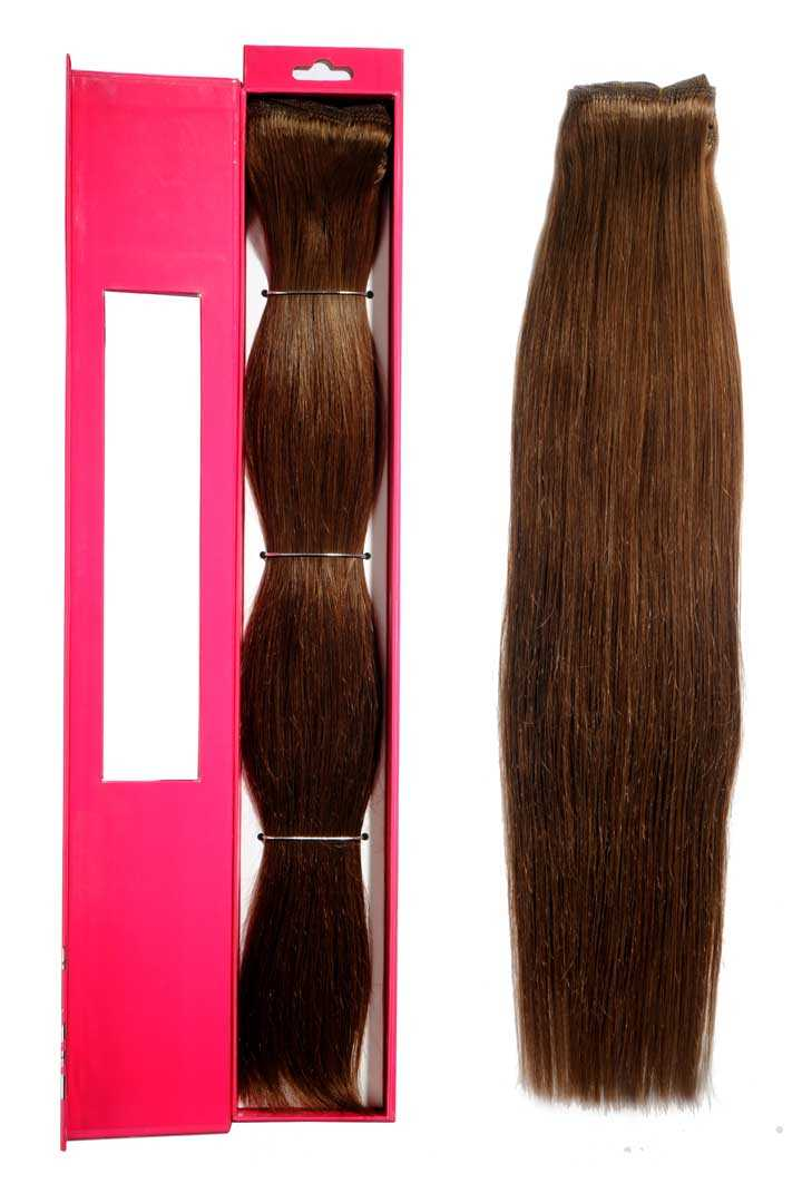 nicciG dark blonde clip-in hair extensions